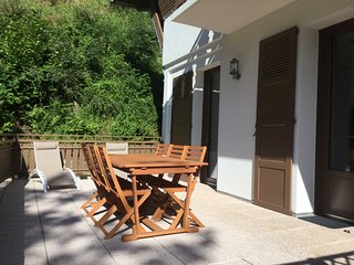 T3- 4 etoiles-terrasse de 30 m2  parking privee- sauna - salle de sport -wifi