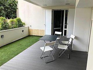 Arcachon proche centre - STUDIO cabine avec grande terrasse, parking individuel