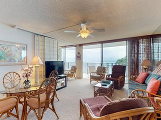 NEW LISTING! Waterfront getaway w/furnished balcony, ocean view & shared pool