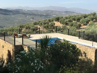 Stone Cottage with own, private pool, air conditioning and breathtaking views.