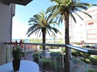 Apartamento en Roses primera linea de playa alquiler-P.PELEG320