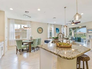 Exquisite Brand-New Condo! Quite Gated Community, Pool, Short Drive to Beach & B