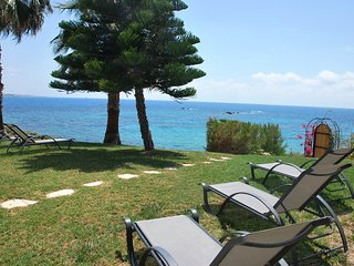 Sea Front Villa in the Heart of Coral Bay Paphos  Amazing Sea Views Privacy