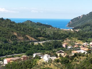 Bellissimo appartamento Sestri Levante 5 terre vista mare panoramica