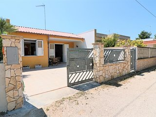 Holiday house villa Cristel in Padula Bianca of Gallipoli a few meters from the