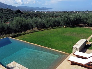 Luxurious, 'Sea & Olive' Private Family Villa, with Pool & Gardens