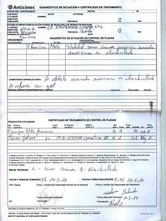 Tratamiento contra cucarachas 24-5-2018