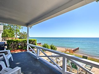 NEW! Fort Gratiot Home on Lake Huron w/Patio, Deck