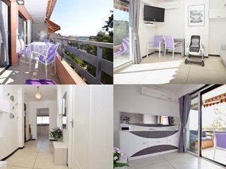 Appartement lumineux 2/3 Pièces Climatisé avec WIFI Centre Ville