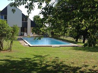 Location Chambre Alsace - Maison avec piscine au pied du Ballon d'Alsace