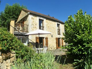 MAISON DE CASTEL: Romantic village stone house with garden and huge pool