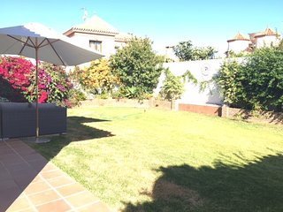Luxurious 3 bedroom, 2 bath beachside villa with private garden.