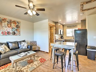 NEW! Updated Moab Apt w/ Grill-5 Mins to Downtown!