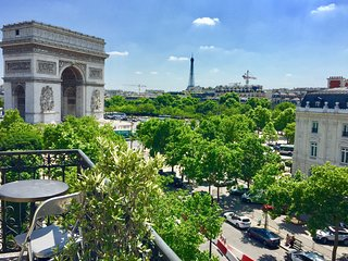 Triomphe Lodge a luxury flat 2 Bdr 110m2 View Arc de Triomphe