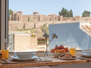 Fabulous Terrace Alcazaba Views next to Cathedral (C79)