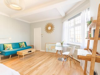 NEW Chic 1BD Studio Flat in Popular Bloomsbury