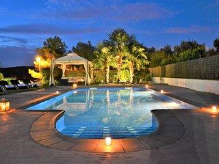 Villa Sitges La Calma a 10 minutes de Sitges. Zones exterieures ideales.