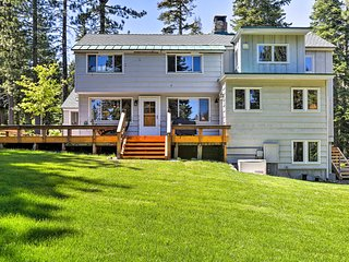 NEW! House w/Hot Tub & Patio - Walk to Lake Tahoe!