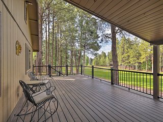 NEW Dog-Friendly Home on Pinetop Lakes Golf Course