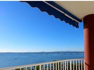 Lo Pagan primera linea frente de la playa Villananitos piso con vistas preciosas