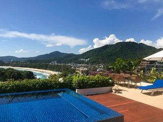 Kata Beach 3 Bed Penthouse Private Pool Walk To Beach