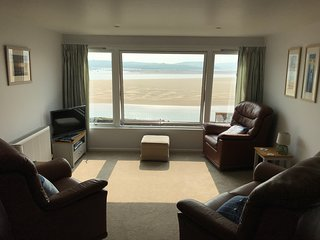 The Living Room with great views, Sat TV and WiFi.