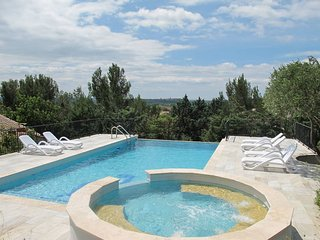 4 bedroom Villa in Saint-Hilaire-d'Ozilhan, Occitania, France : ref 5452711