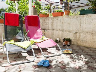 Apartments Ira  - Studio with Terrace (3 Adults)