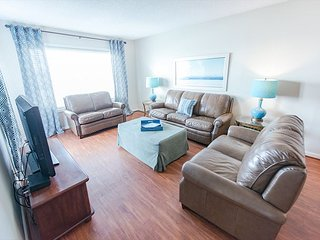 Spacious Oceanfront Condo (A1) with 4 Bedrooms/3 Baths with Pool-Pets Welcome
