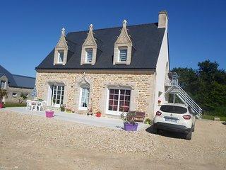 maison de vacances non loin des plages en Bretagne