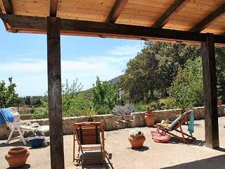 Villa Cycas sulla collina di Sperlonga