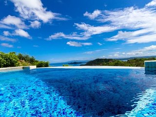 Sweeping views of the Bay of Papagayo 3 bed 3 bath private infinity edged pool