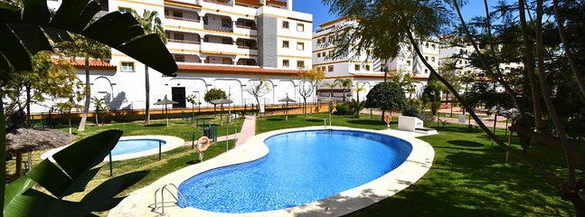 YOU CAN ENJOY THE LARGE POOL /CHILDRENS POOL IN BEAUTIFUL KEPT GARDEN, AS MUCH AS WE DO.