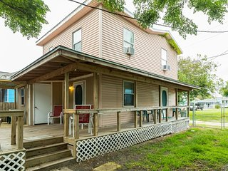NEW LISTING! Dog-friendly island home with huge deck and fenced backyard