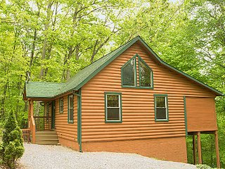 Bluebird Cabin at Hummingbird Hill (Hocking Hills area)
