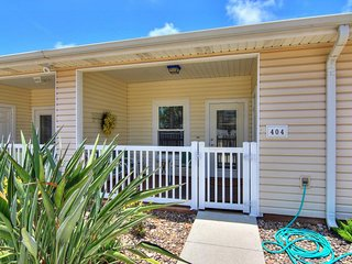 NEW LISTING! Inviting, dog-friendly home w/shared pool - close to the beach