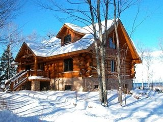 Vacation Log Home On Lake Superior - Please contact owner for available dates