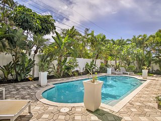 NEW! 'Sky Oasis' Oakland Park Home w/Private Pool!