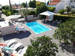 Apartment Fortuna Zadar with pool A3 2+2 pax