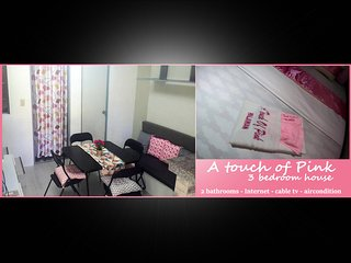 A touch of Pink - 3 bedroom house
