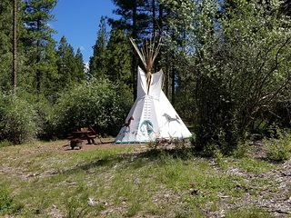 Native Hummingbird Tipi