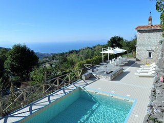Villa 77 is a luxury and modern villa rentals in Amalfi Coast