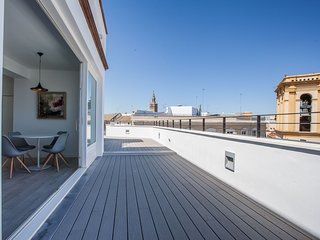 Conde Terraza apartment in Santa Cruz – Catedral with WiFi, integrated air condi