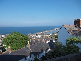 SEA VIEW, views of St Michael's Mount, Newlyn