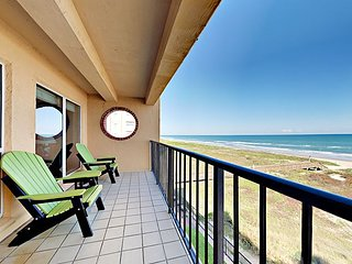 4th Floor 2BR Beachfront Condo w/ Pool, Hot Tub & Beach Access Suntide ii 402