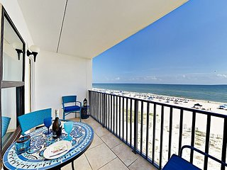 Epic Gulf Views from Island Sunrise #462 2BR – Absolute Beachfront w/ Pool