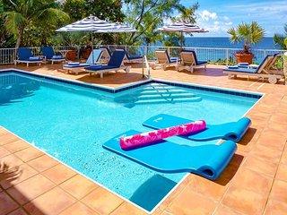 Vida De Mar: Waterfront Villa! Full AC! Huge Pool and Hot Tub!