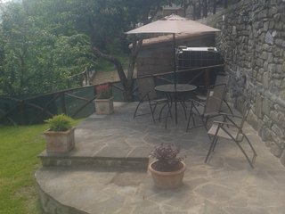 Casa Giardino cozy mountain cottage 8km from Sansepolcro (AR)