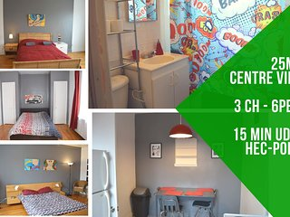 Diana . Bright 3 rooms apart CDN, 20 min downtown