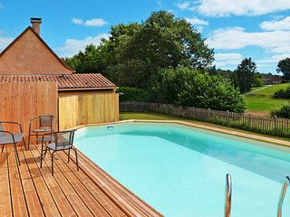 3 bedroom Villa in Saint-Julien-de-Crempse, Nouvelle-Aquitaine, France : ref 544